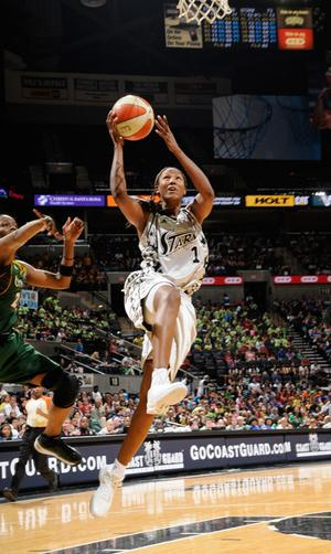 Chamique Holdsclaw, WNBA